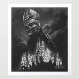 DEUS IN ABSENTIA Art Print