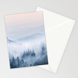 Pastel landscape 03 Stationery Cards