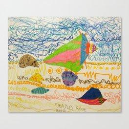 She Sells Seashells... Canvas Print