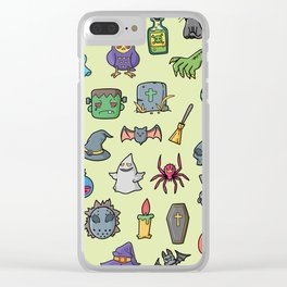 Helloween Party Clear iPhone Case