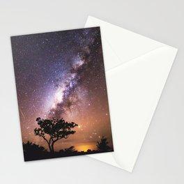 Milky Way Stars South Western Tree Stationery Cards