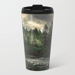 Pacific Northwest River - Nature Photography Metal Travel Mug