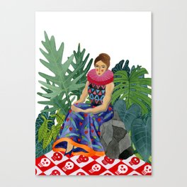 Queen of the greenhouse Canvas Print