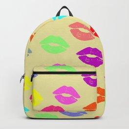 Someone lips Backpack