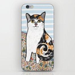 Mattie CatDoodle iPhone Skin