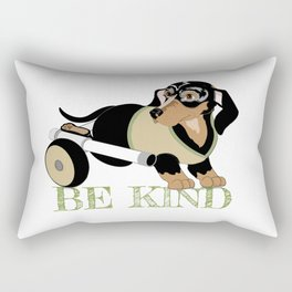Ricky Bobby #3: Be Kind Rectangular Pillow