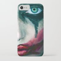 the joker iPhone & iPod Cases featuring Joker by Imustbedead