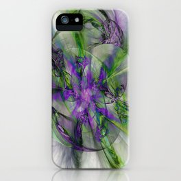 Painted with Love iPhone Case