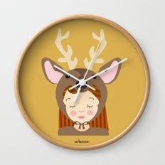 Like a deer.. Wall Clock