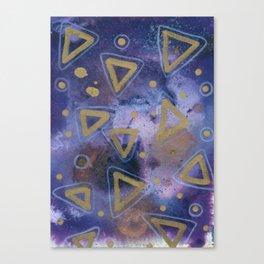 Violent Copper Canvas Print