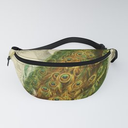 Naturalist Peacock Fanny Pack