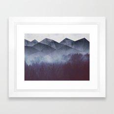 Winter Glory Framed Art Print