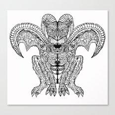 Diabolus Canvas Print