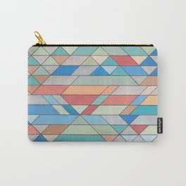 Triangle Pattern no.2 Colorful Carry-All Pouch
