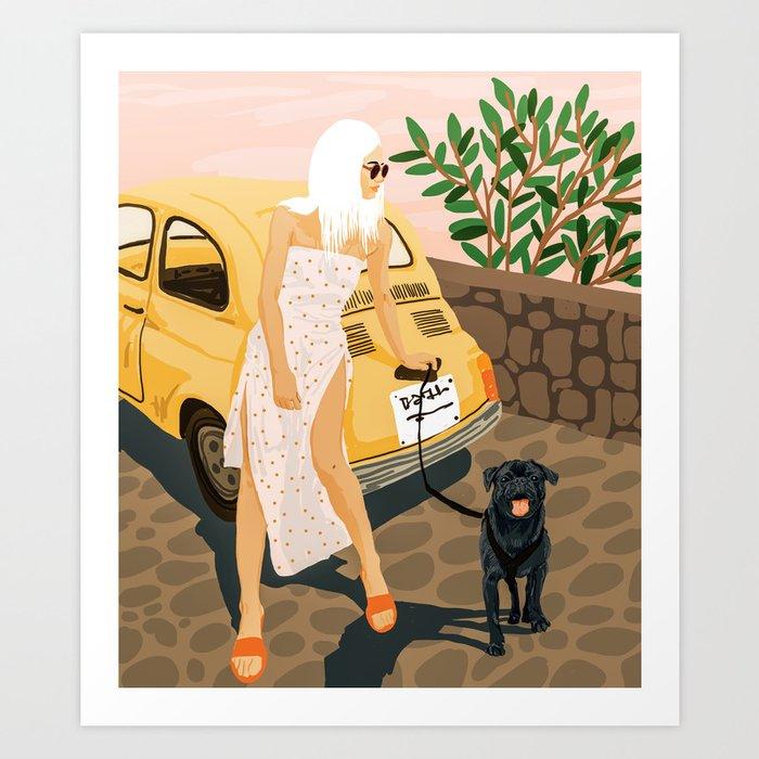 Tour #illustration Art Print