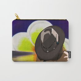 Hat In Sunset Carry-All Pouch