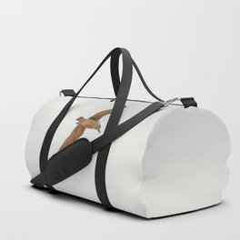 Seagull bird flying Duffle Bag