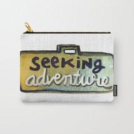 Seeking Adventure Carry-All Pouch