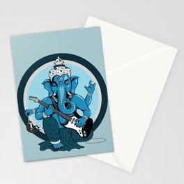 Ganesha rocks ! (v2) Stationery Cards