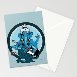 Ganesha rocks ! (v2) Stationery Cards