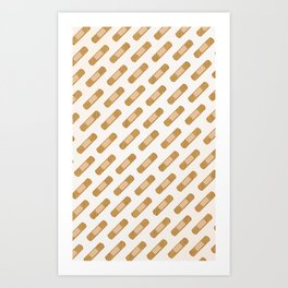 Anyone have a bandaid ? Art Print