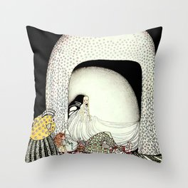 "Kay Nielsen Illustration from ""East of the Sun"" Throw Pillow"