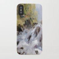 rush iPhone & iPod Cases featuring Rush by Helen Harris/PineShoreStudio