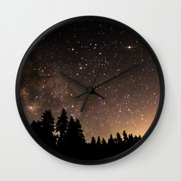 Idyllwild Stars Wall Clock