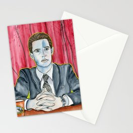 Twin Peaks Agent Dale Cooper Stationery Cards