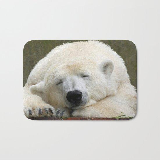 Polar Bear 003 Bath Mat