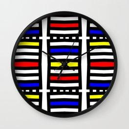 Rachna Bauhaus 6 Wall Clock