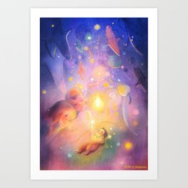 Pure Magic Art Print