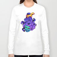 medusa Long Sleeve T-shirts featuring medusa by Ginseng&Honey