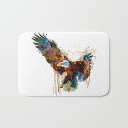 Free and Deadly Eagle Bath Mat