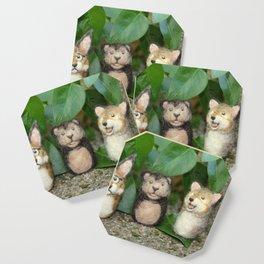 Felted Animal Miniatures Coaster
