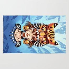 Tiger Tribe Rug