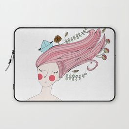 Let her sleep for when she wakes she will move mountains Laptop Sleeve