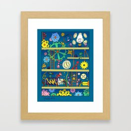 Cog Works Framed Art Print
