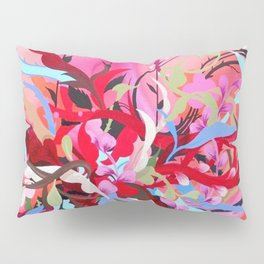 Red Arrangement Pillow Sham