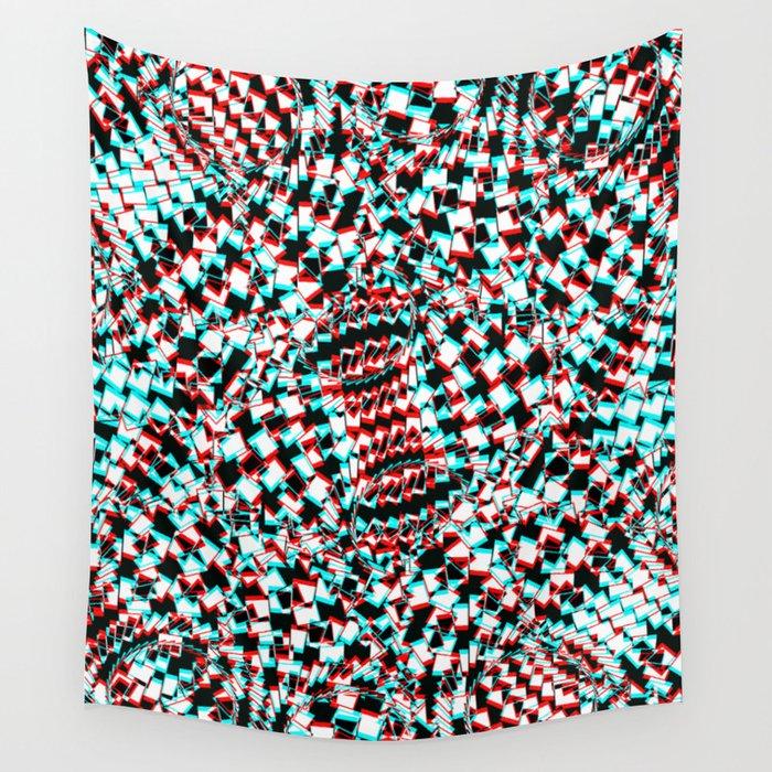 Atom Vibration Wall Tapestry By Pahagh Society6