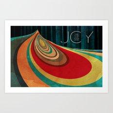 JOY... Art Print