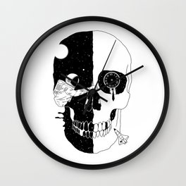 After Life (A Glimpse into a Void or the Moment of a Disappearing Existence) Wall Clock