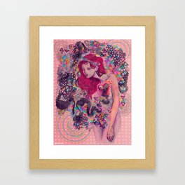 what we need is love, sweet love Framed Art Print