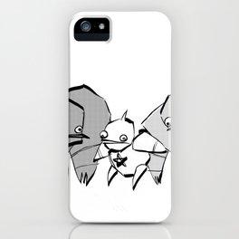 minima - slowbot 006 (clock) iPhone Case