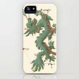 The Night Gardener - The Dragon Tree iPhone Case
