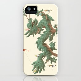 The Night Gardener - The Dragon Tree iPhone Case