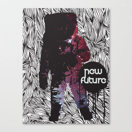 The New Future Is Here Canvas Print