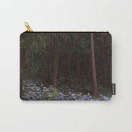 Mystic Forest - Hydrangeas Carry-All Pouch