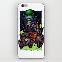 psych iPhone & iPod Skins featuring Psych-O-Clops by Pheck