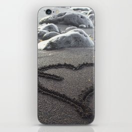 Romance Down the Shore iPhone Skin